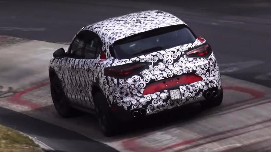 VIDÉO - L'Alfa Romeo Stelvio QV à l'assaut du Nürburgring