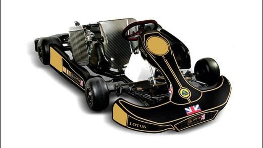Lotus announces racing kart team in search of new talent