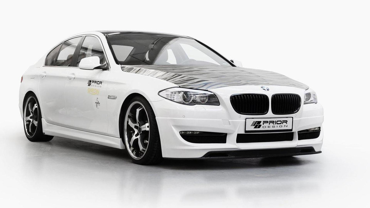 BMW 5-Series F10 by Prior Design 27.12.2011