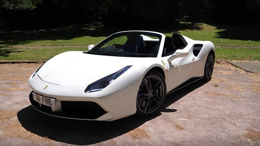 Ferrari 488 Spider With $146,000 Worth Of Options Detailed