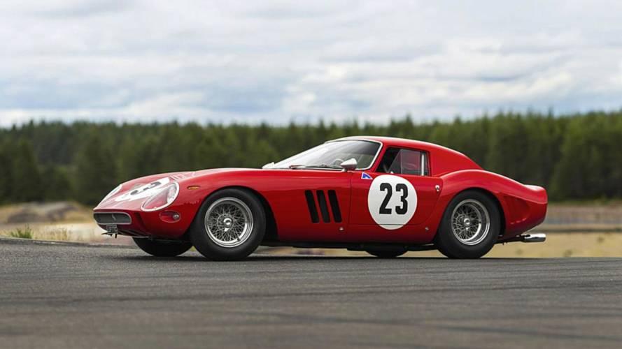 Ex-Phil Hill Ferrari 250 GTO Test Car Announced For $45M Auction