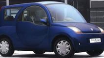 Bollore Blue car