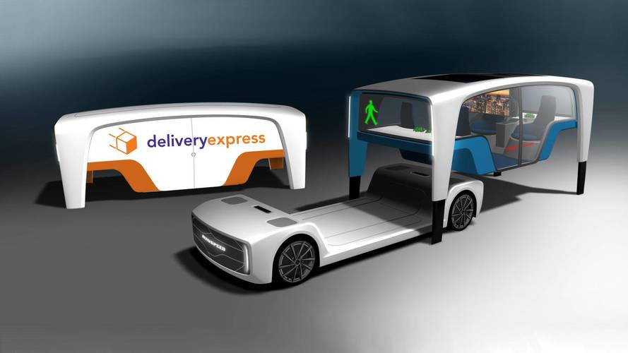 Rinspeed's New Mobility Concept Can Snap On Different Cabins