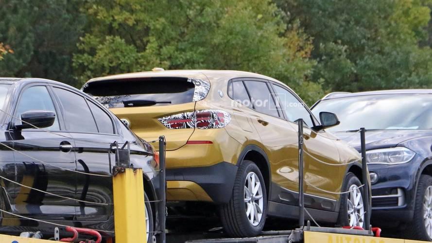 2018 BMW X2 photos espion sans camouflages