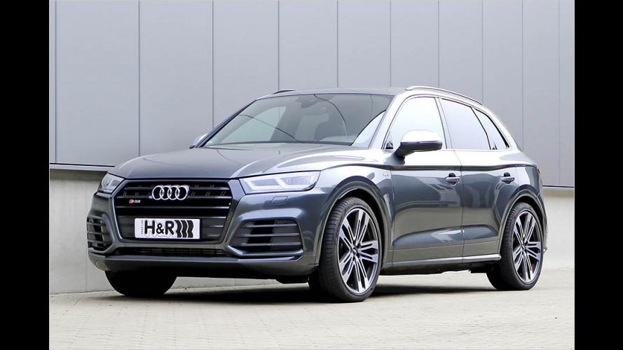 Sportlich befedert: Audi SQ5