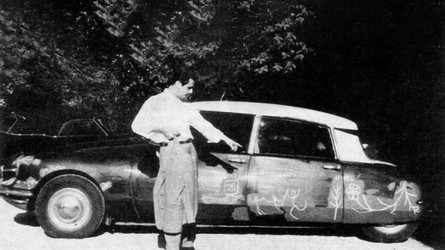 Quand Pablo Picasso décorait une Citroën DS