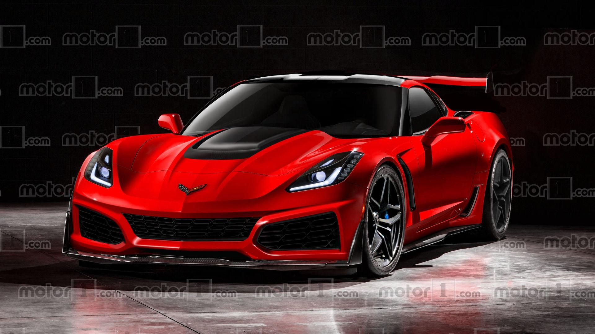 Cars For Sale Los Angeles >> 2018 Chevy Corvette ZR1 Could And Should Look Like This