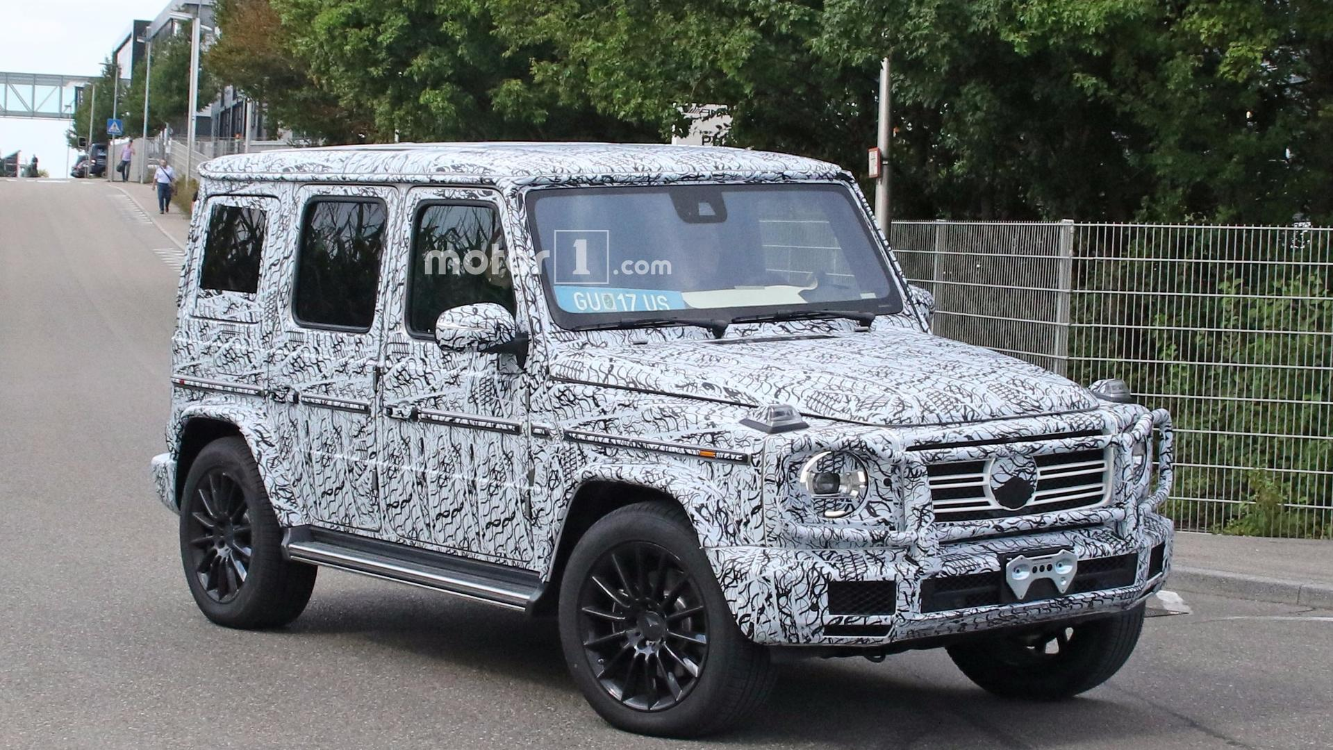 2019 Mercedes G Class Spied Up Close In Standard And Amg Trims