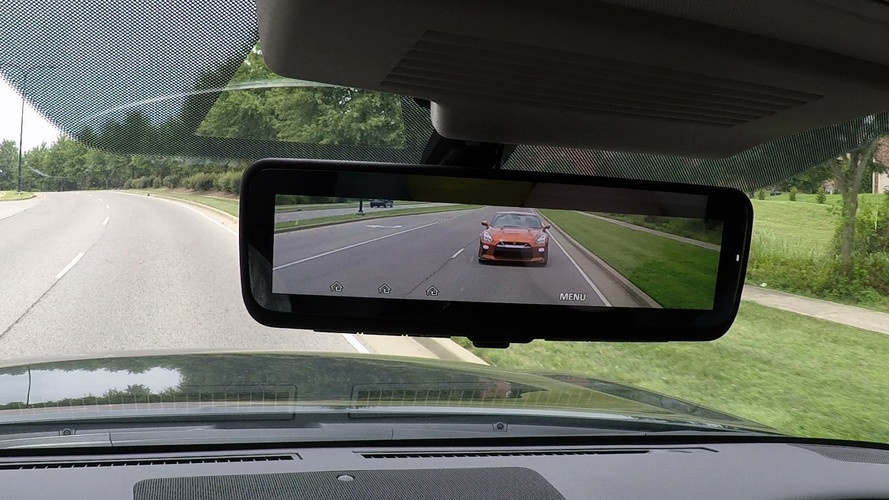 Nissan's Intelligent Rear View Mirror Doubles As LCD Monitor