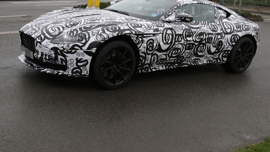 Aston Martin DB11 spied inside & out