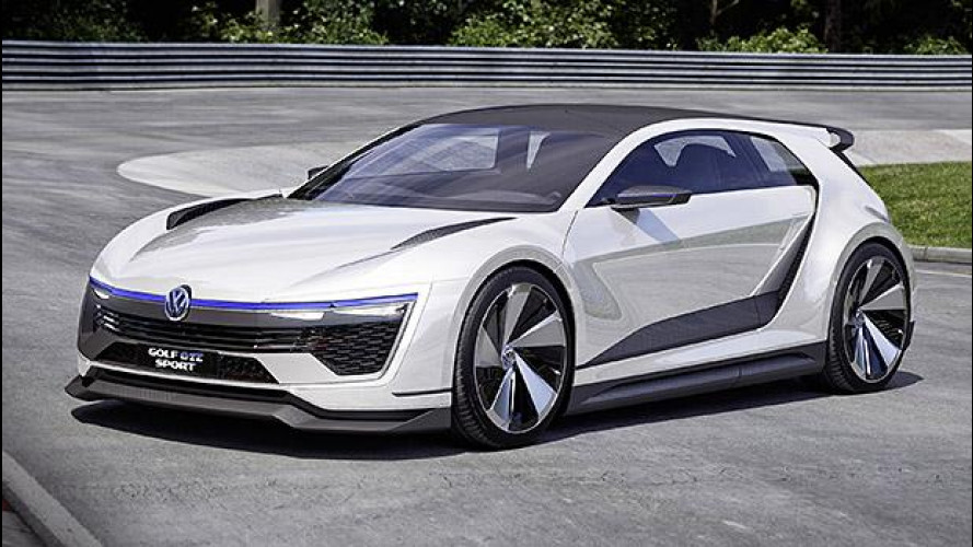 Volkswagen Golf GTE Sport, l'ibrida di domani ha 400 CV