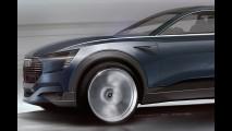 Audi e-tron quattro concept, i primi disegni