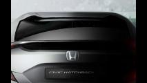 Honda Civic Hatchback Prototype, il teaser