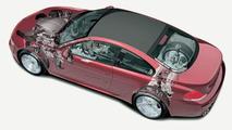 BMW M6 cutaway