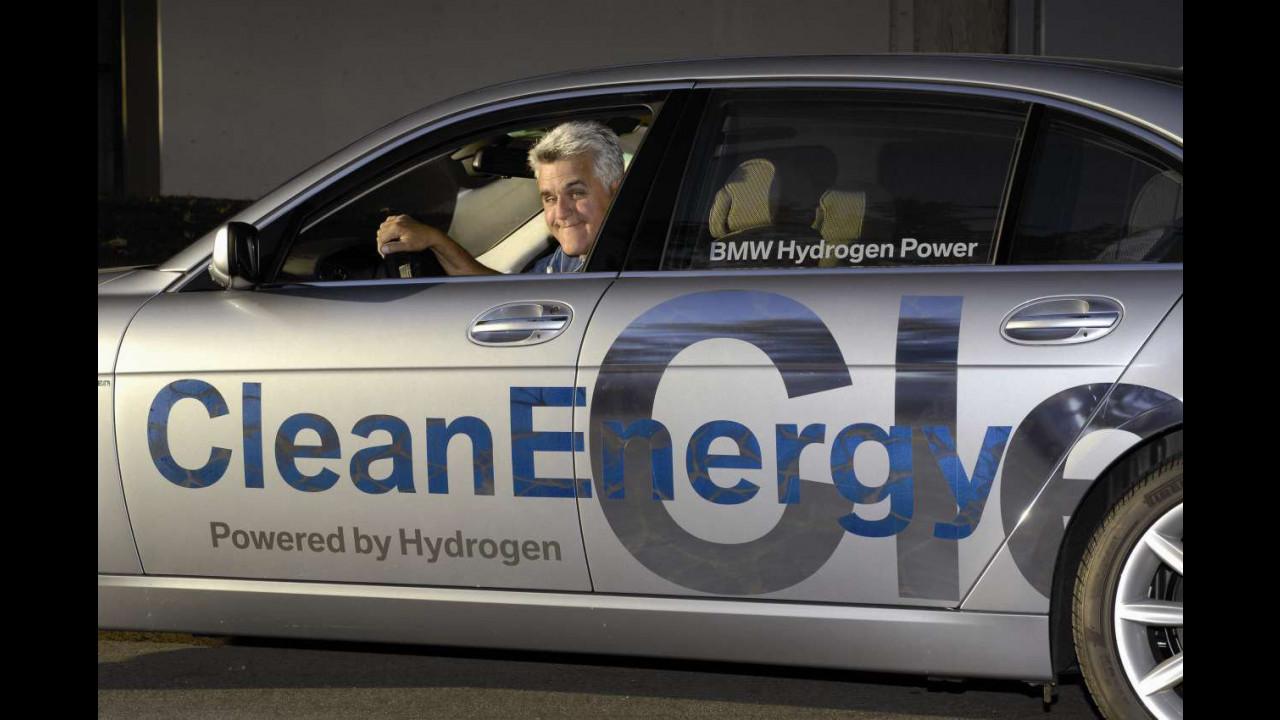 I VIP della BMW Hydrogen 7