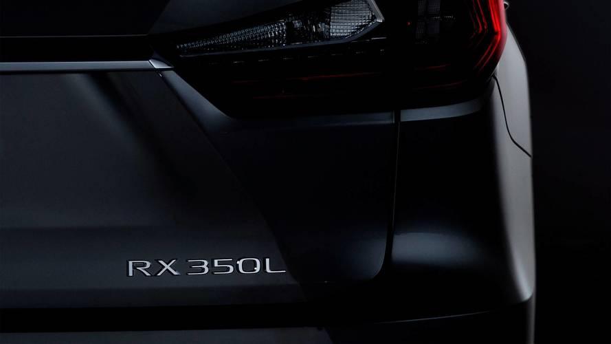 Lexus muestra un futuro RX (con tres filas de asientos)