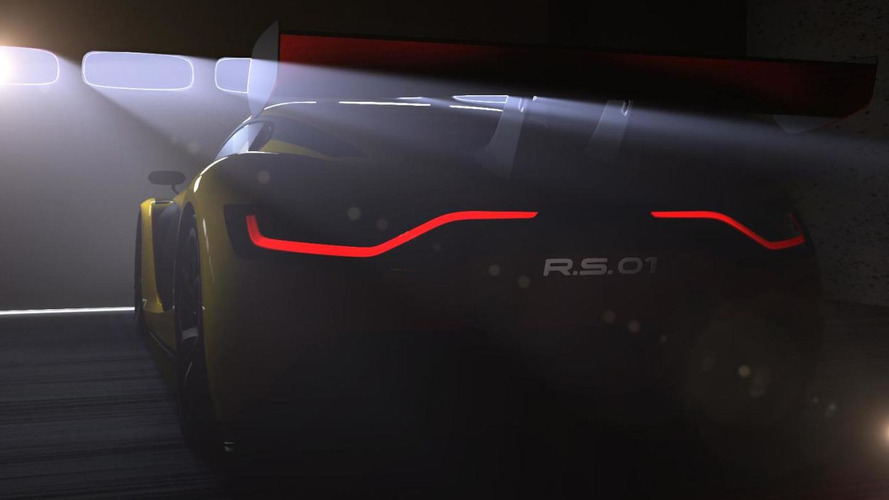 Renaultsport teases new race car again, to be named the R.S. 01
