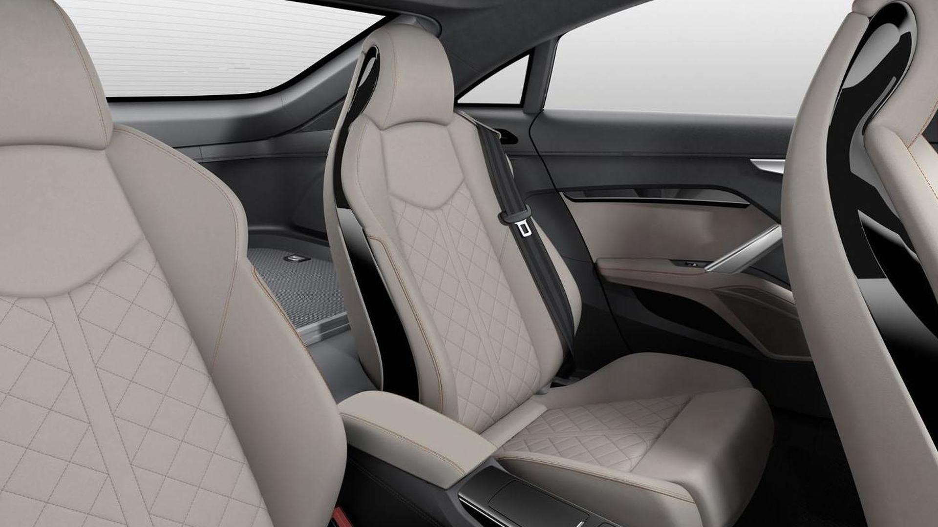 Задние сиденья Audi TT Sportback Concept 2014