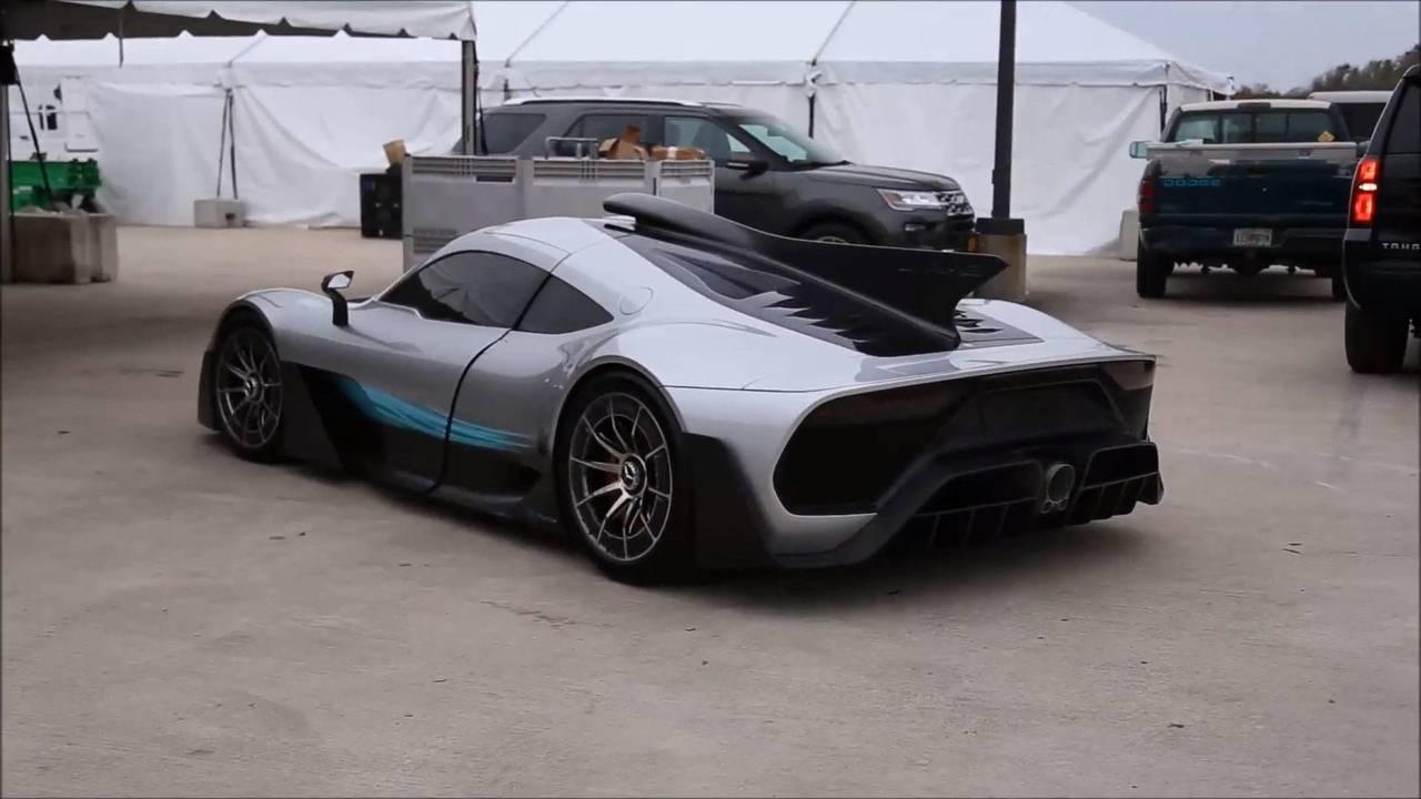 Mercedes-AMG Project One'ın Yeni Fotoğrafları