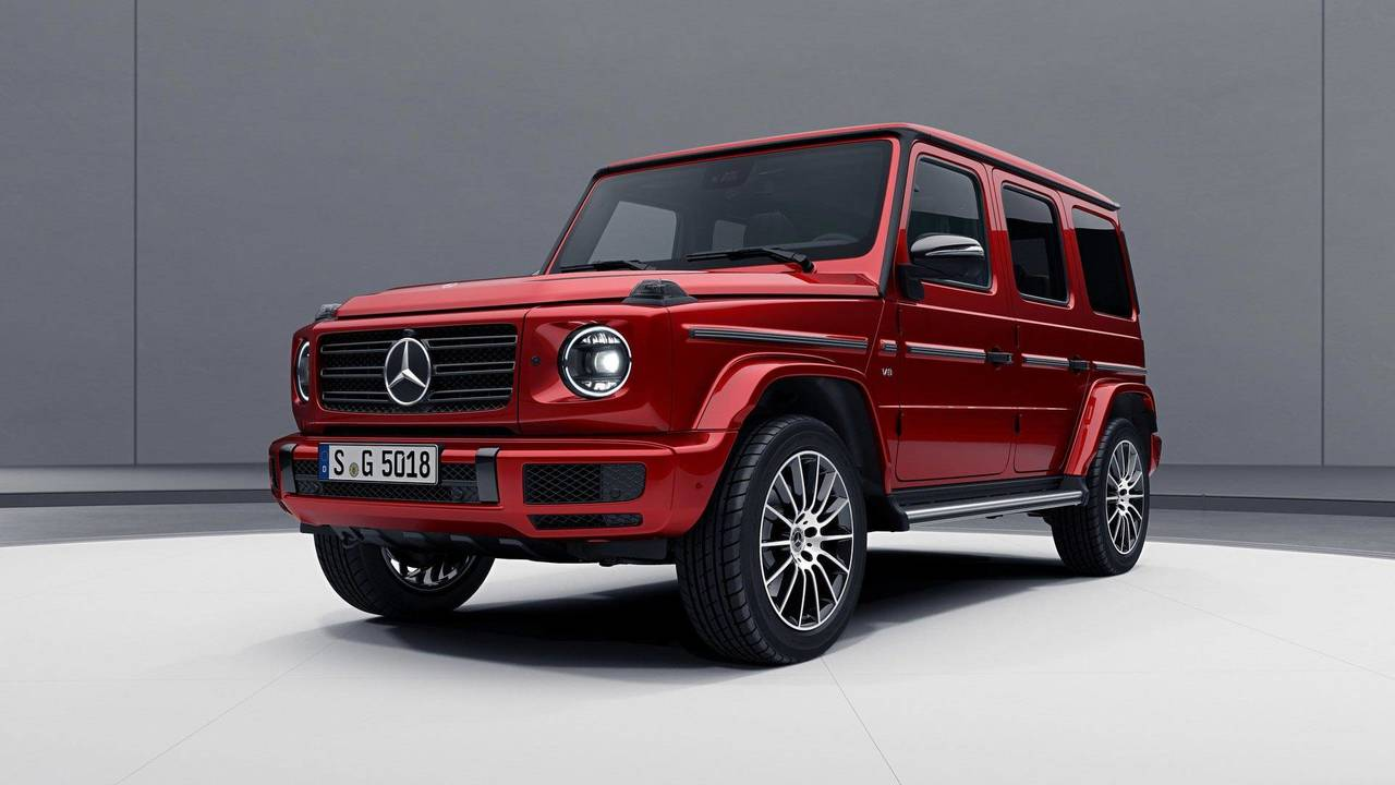 2019 mercedes g class goes dark with optional night package for Mercedes benz packages