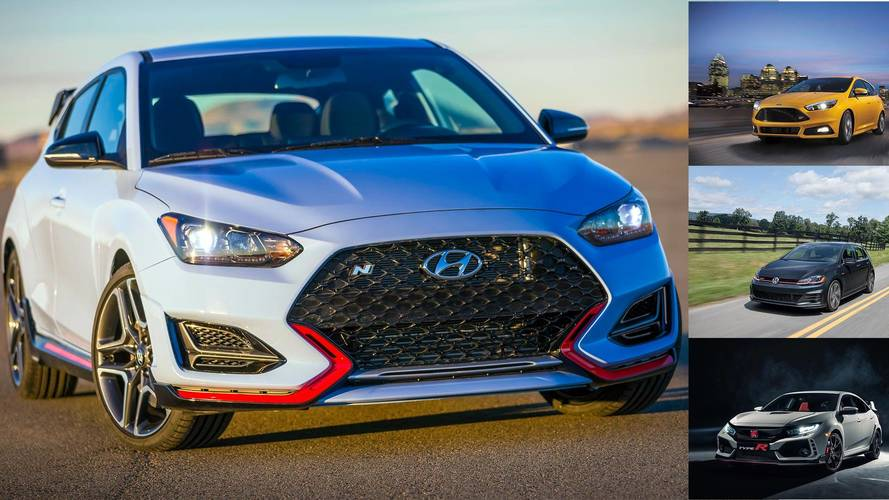 How The 2019 Veloster N Stacks Up In The Hot Hatch Fight