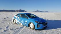 Hyundai Ioniq, record di velocità 002