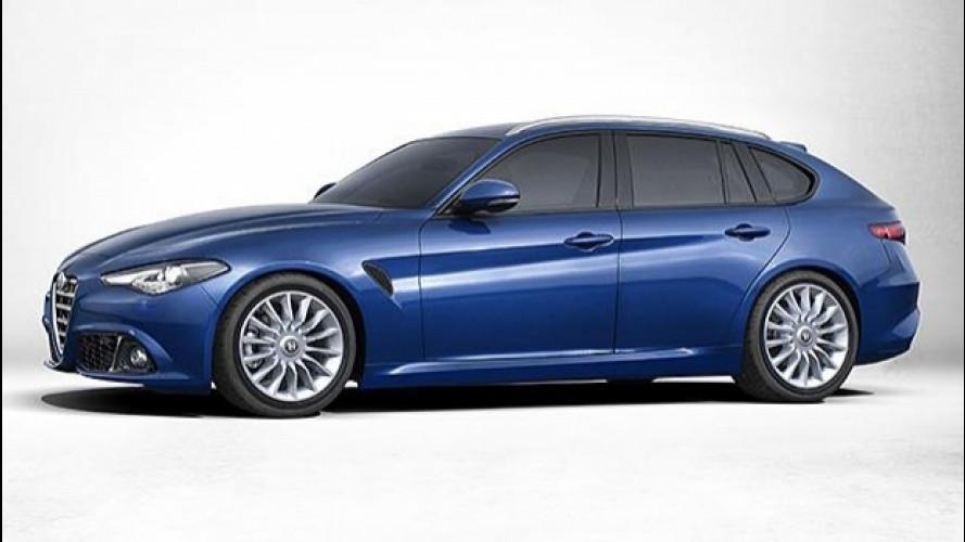 Alfa Romeo Giulia, la Sportwagon si farà