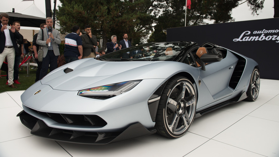 Lamborghini Centenario Roadster tanıtım