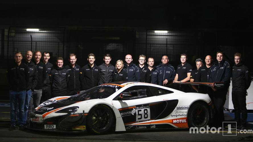Le titre en Blancpain Endurance pour la McLaren Garage 59