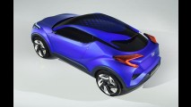 Toyota C-HR Concept antecipa crossover para brigar com EcoSport e cia