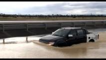 VÍDEO mostra Nova Ford Ranger em teste de trecho alagado