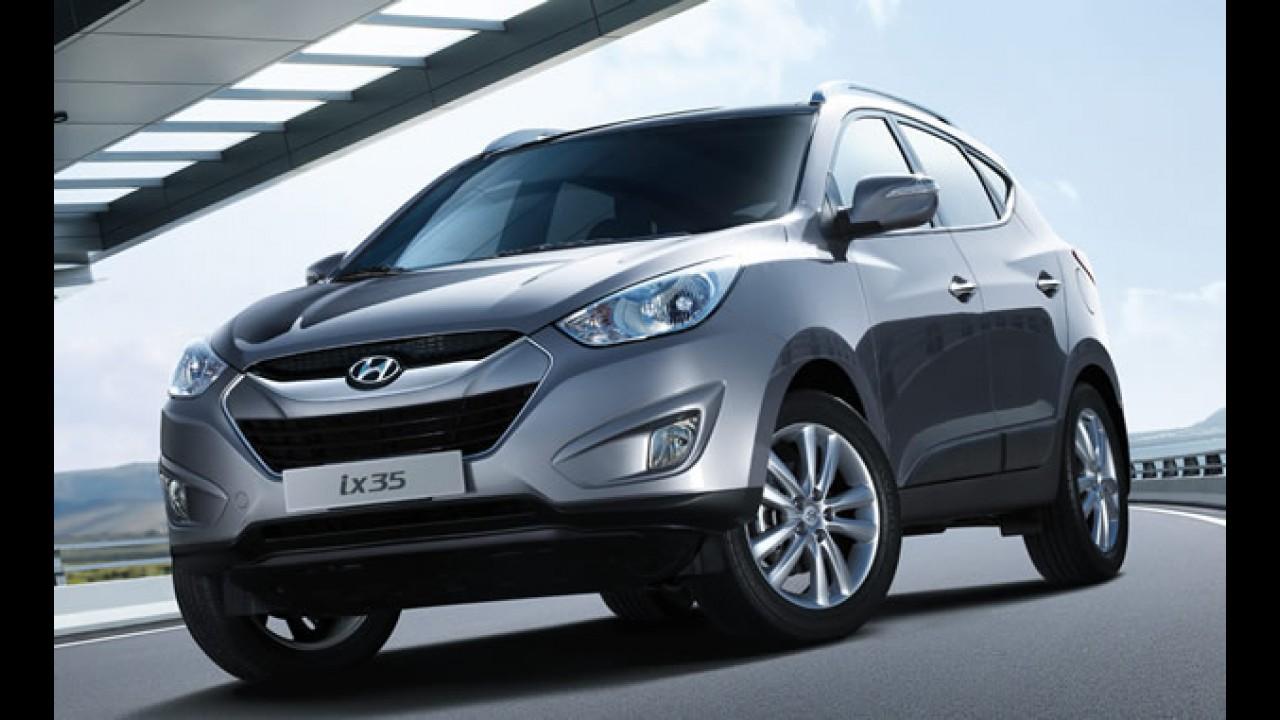 CAOA - Hyundai inicia produção do ix35 flex no Brasil