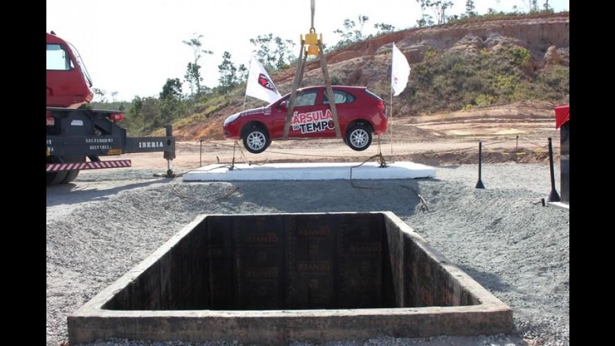 JAC inaugura pedra fundamental de nova fábrica na Bahia e enterra J3 como cápsula do tempo