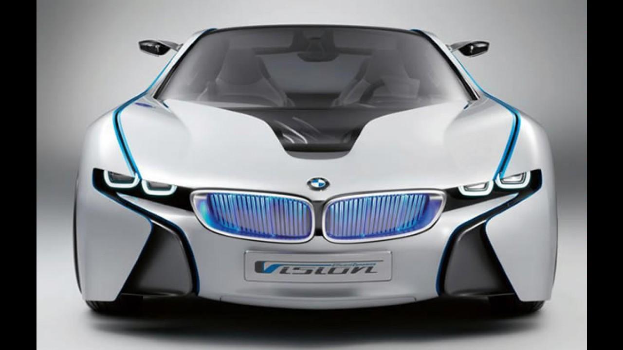 """BMW cria submarca """"i"""" para seus veículos elétricos"""