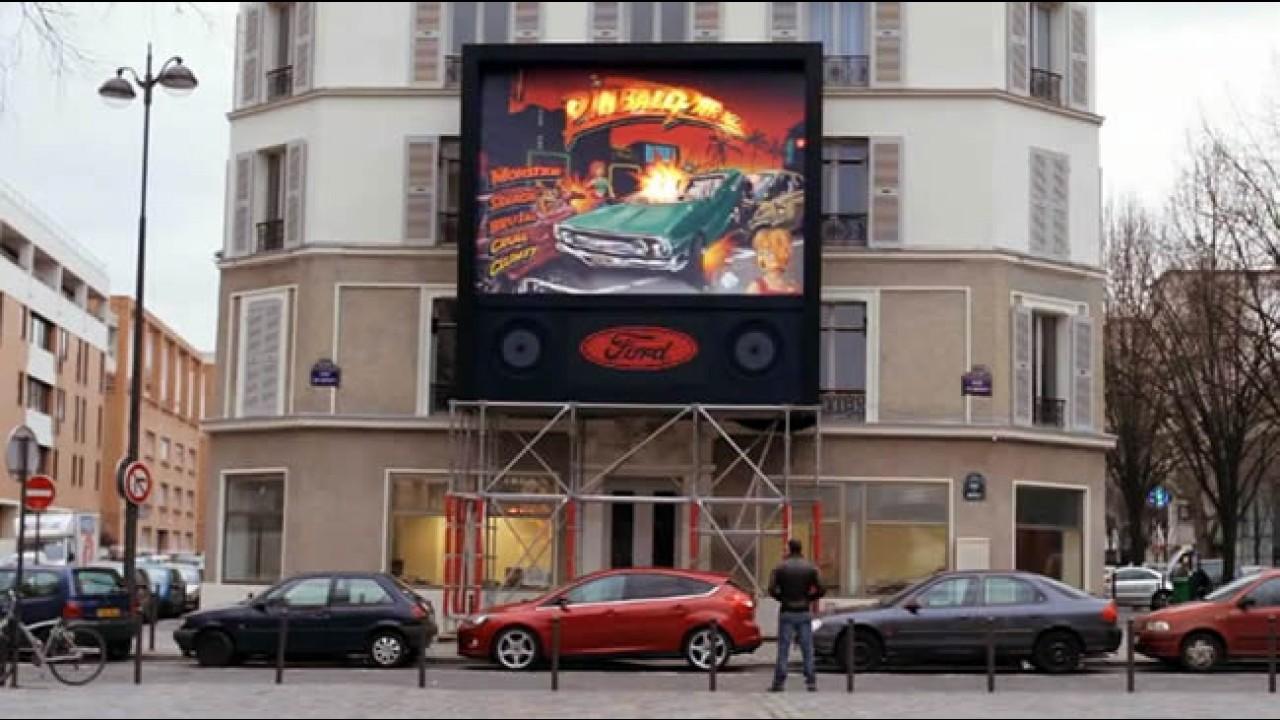 Estilo Pinball: Ford mostra como se faz baliza em Paris