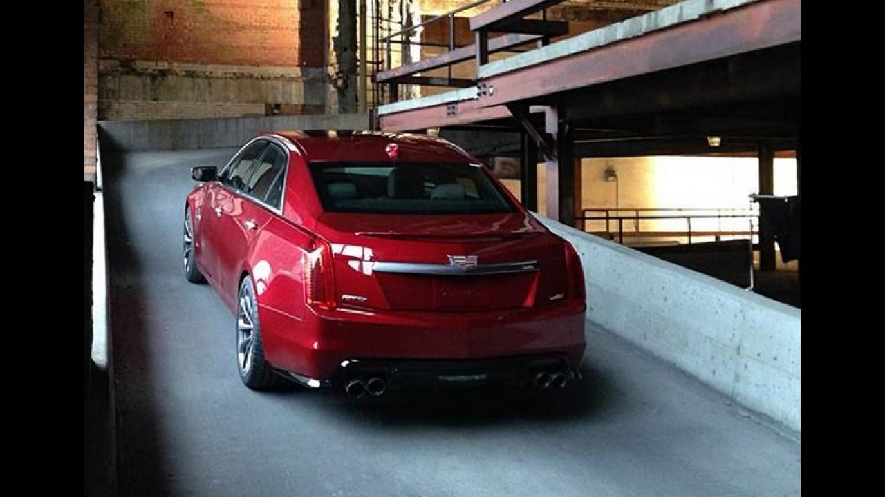 """Veja o novo Cadillac CTS-V, """"monstro americano"""", em ação - vídeo"""