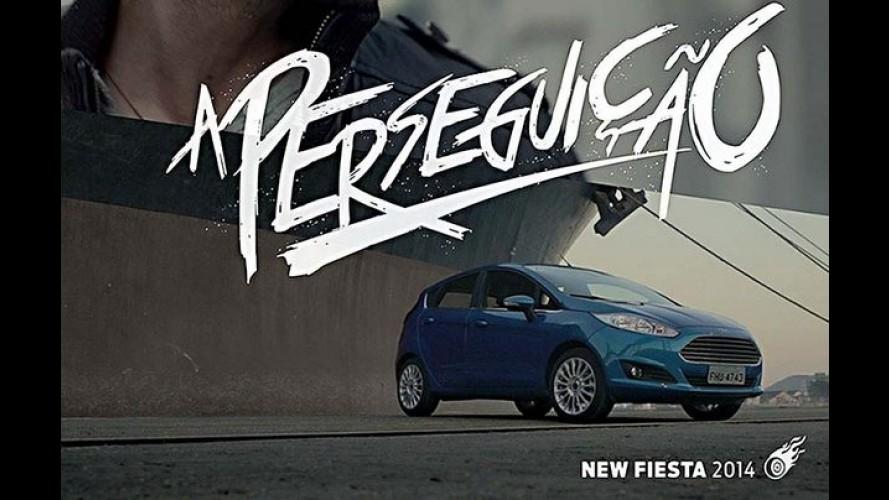 Ford usa dublês de Hollywood na nova campanha do New Fiesta