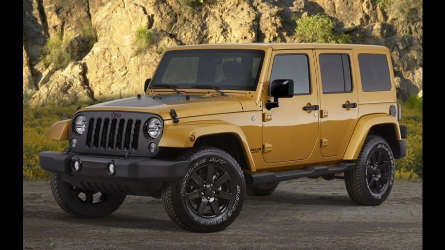 Jeep convoca 709 Wrangler no Brasil por problema nos retrovisores