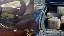 Audi RS6 Caught in Spain Going 133mph with 870kg of Hashish