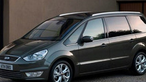 2010 Ford S-MAX and Galaxy MPV Facelift Photos Leaked
