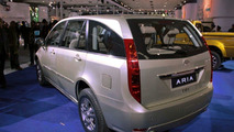 Tata Aria live at 2010 New Delhi Auto Expo - 1200 - 05.01.2010