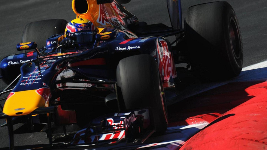 Webber's Red Bull stops as pace heats up at Monza