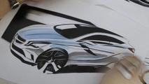 2012 Mercedes A-Class design sketch leak - 15.3.2011