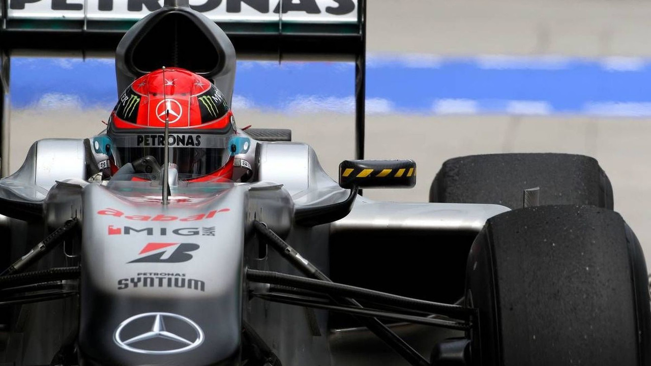 Michael Schumacher (GER), Mercedes GP Petronas, Malaysian Grand Prix, 03.04.2010 Kuala Lumpur, Malaysia