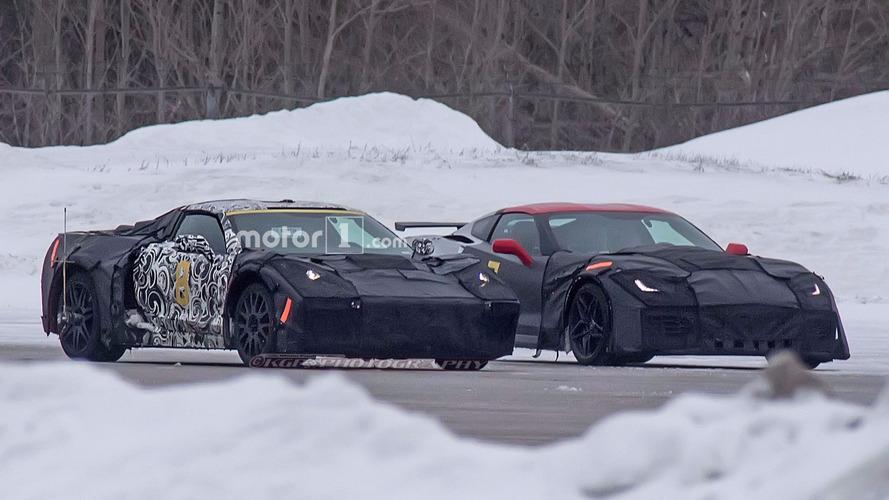Photos espion - La future Corvette et la ZR1 surprises en test