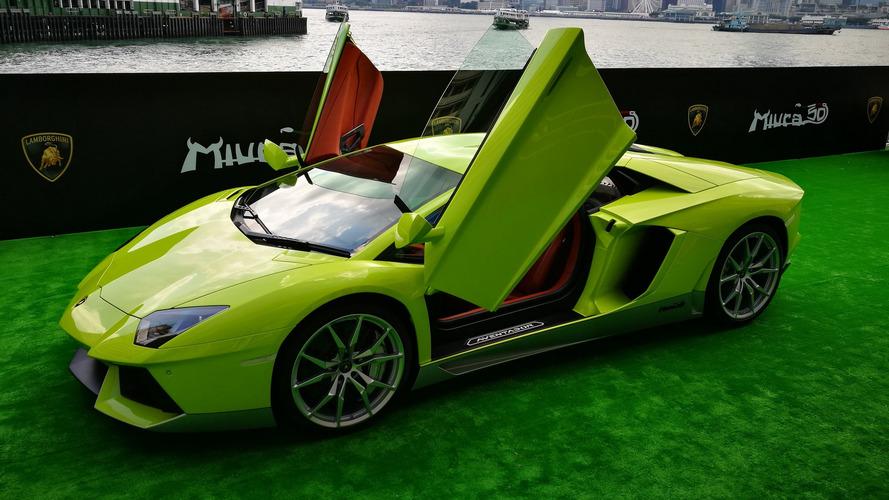 Photos - L'unique Lamborghini Aventador Miura Homage destinée à Hong Kong
