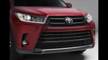 Toyota Highlander 2017 revela novo visual antes da estreia em Nova York