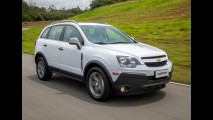 Chevrolet Captiva 2016 ganha visual