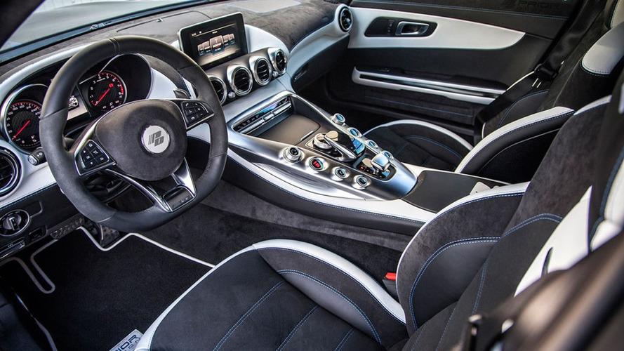 Mercedes Classe S Coupé intérieur par Prior Design