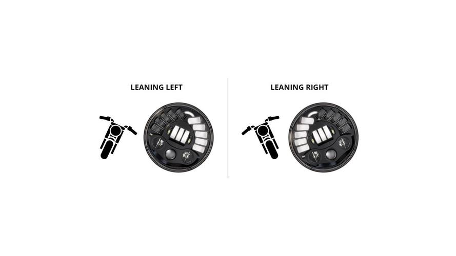 Tech company develops adaptive headlight for Victory bikes